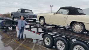 Daniel Made it a simple and easy transaction, I was sending my 2 Mercedes to Mecum, and he paid me out exactly what I was hoping to get from the auction. I avoided the headache and time. Thanks!